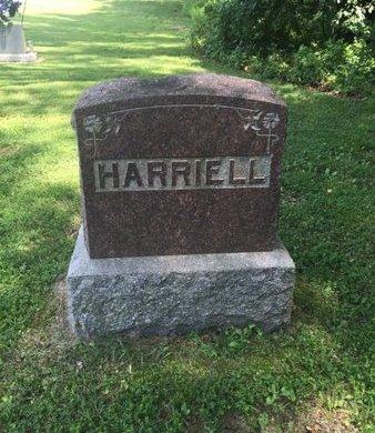 HARRIELL, FAMILY MARKER - Jefferson County, Illinois   FAMILY MARKER HARRIELL - Illinois Gravestone Photos