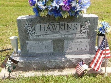 HAWKINS, BENJAMIN F - Jefferson County, Illinois | BENJAMIN F HAWKINS - Illinois Gravestone Photos