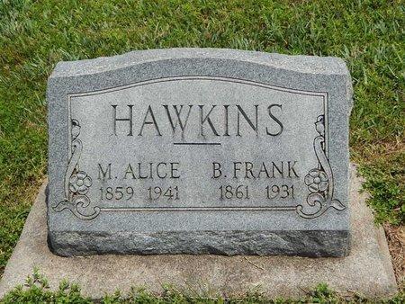 HAWKINS, M ALICE - Jefferson County, Illinois | M ALICE HAWKINS - Illinois Gravestone Photos