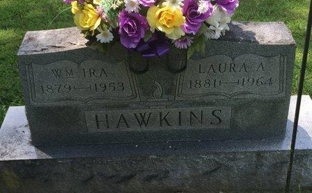 HAWKINS, LAURA A - Jefferson County, Illinois   LAURA A HAWKINS - Illinois Gravestone Photos