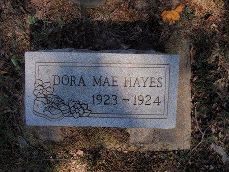 HAYES, DORA MAE - Jefferson County, Illinois | DORA MAE HAYES - Illinois Gravestone Photos