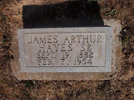 HAYES, JAMES ARTHUR SR - Jefferson County, Illinois | JAMES ARTHUR SR HAYES - Illinois Gravestone Photos
