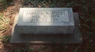 HAYES, SAMUEL KERRY - Jefferson County, Illinois | SAMUEL KERRY HAYES - Illinois Gravestone Photos