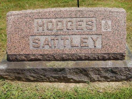HODGES SATTLEY, FAMILY MARKER - Jefferson County, Illinois | FAMILY MARKER HODGES SATTLEY - Illinois Gravestone Photos
