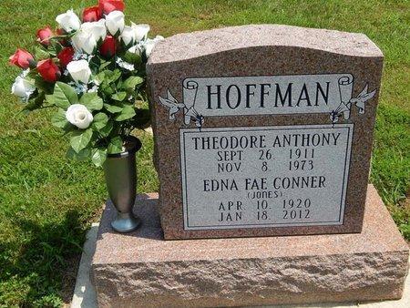 HOFFMAN, EDNA FAE CONNER - Jefferson County, Illinois | EDNA FAE CONNER HOFFMAN - Illinois Gravestone Photos