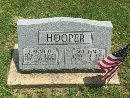 HOOPER, NAOMI D - Jefferson County, Illinois | NAOMI D HOOPER - Illinois Gravestone Photos