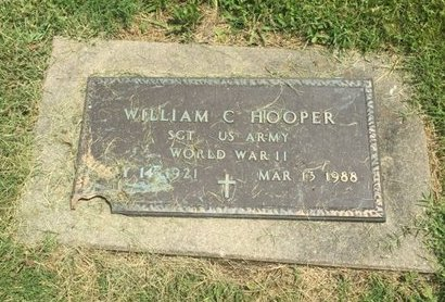 HOOPER (VETERAN WWII), WILLIAM C - Jefferson County, Illinois | WILLIAM C HOOPER (VETERAN WWII) - Illinois Gravestone Photos