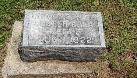 KEELE, INFANT SON - Jefferson County, Illinois | INFANT SON KEELE - Illinois Gravestone Photos