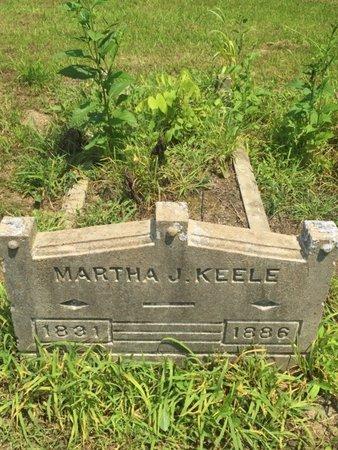 KEELE, MARTHA J - Jefferson County, Illinois | MARTHA J KEELE - Illinois Gravestone Photos