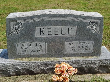 BURGE KEELE, ROSE ILA - Jefferson County, Illinois | ROSE ILA BURGE KEELE - Illinois Gravestone Photos