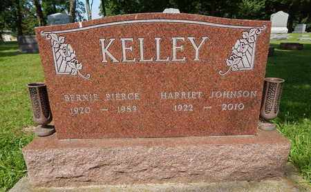 KELLEY, BERNIE PIERCE - Jefferson County, Illinois | BERNIE PIERCE KELLEY - Illinois Gravestone Photos