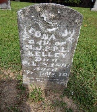 KELLEY, EDNA J - Jefferson County, Illinois   EDNA J KELLEY - Illinois Gravestone Photos
