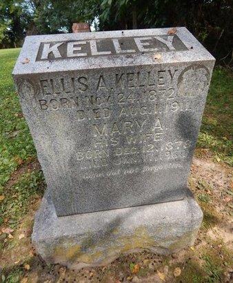 KELLEY, MARY A - Jefferson County, Illinois | MARY A KELLEY - Illinois Gravestone Photos