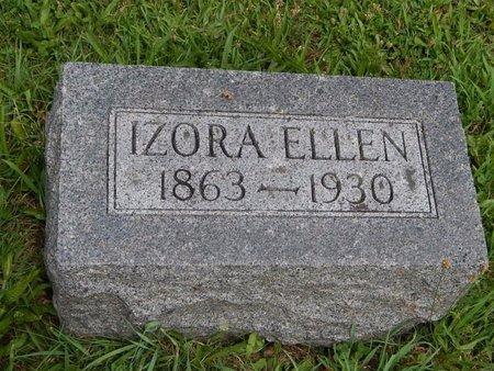 KELLEY, IZORA ELLEN - Jefferson County, Illinois | IZORA ELLEN KELLEY - Illinois Gravestone Photos