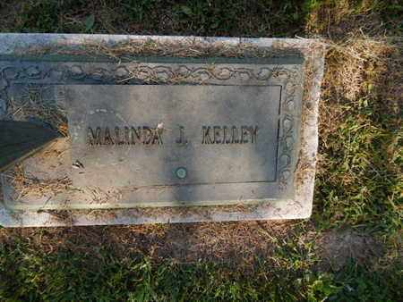 KELLEY, MALINDA J - Jefferson County, Illinois | MALINDA J KELLEY - Illinois Gravestone Photos