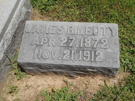 LEUTY, JAMES B - Jefferson County, Illinois | JAMES B LEUTY - Illinois Gravestone Photos