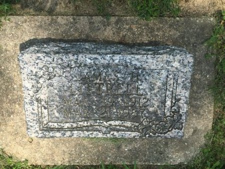 LITTRELL, JAMES H - Jefferson County, Illinois | JAMES H LITTRELL - Illinois Gravestone Photos