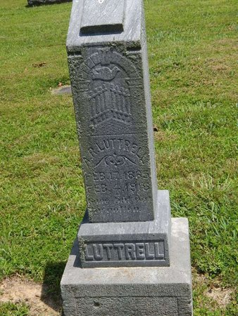 LUTTRELL, A R - Jefferson County, Illinois | A R LUTTRELL - Illinois Gravestone Photos
