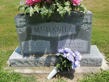 MCDANIEL, ELOISE - Jefferson County, Illinois   ELOISE MCDANIEL - Illinois Gravestone Photos