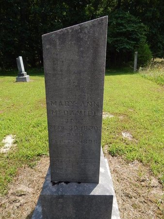 MCDANIEL, MARY ANN - Jefferson County, Illinois | MARY ANN MCDANIEL - Illinois Gravestone Photos