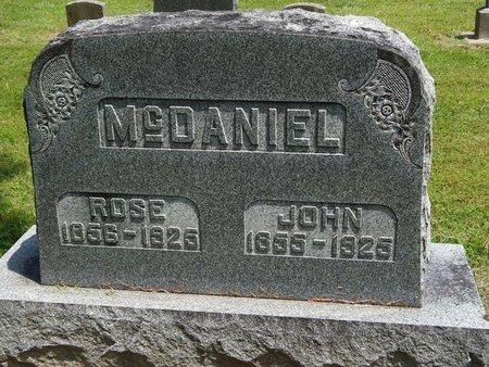 MCDANIEL, JOHN - Jefferson County, Illinois | JOHN MCDANIEL - Illinois Gravestone Photos
