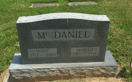 MCDANIEL, ROSE - Jefferson County, Illinois | ROSE MCDANIEL - Illinois Gravestone Photos