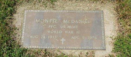 MCDANIEL (VETERAN WWII), MONTIE - Jefferson County, Illinois | MONTIE MCDANIEL (VETERAN WWII) - Illinois Gravestone Photos