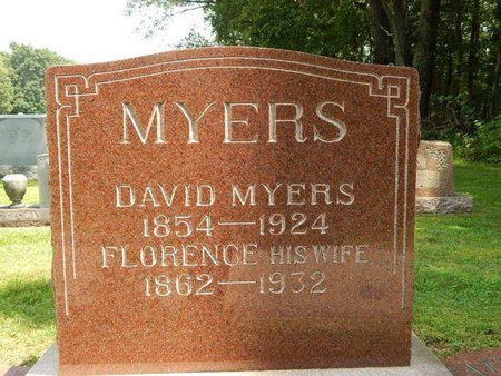 SLEDGE MYERS, FLORENCE - Jefferson County, Illinois | FLORENCE SLEDGE MYERS - Illinois Gravestone Photos