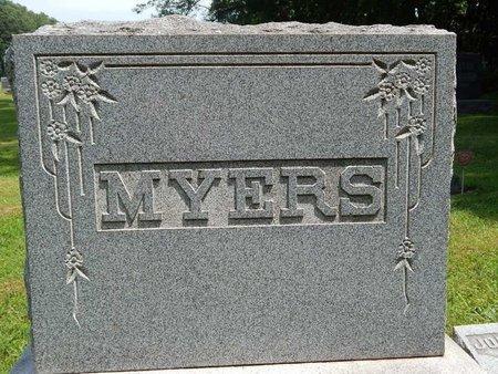 MYERS, FAMILY MARKER - Jefferson County, Illinois   FAMILY MARKER MYERS - Illinois Gravestone Photos