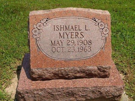 MYERS, ISHMAEL L - Jefferson County, Illinois   ISHMAEL L MYERS - Illinois Gravestone Photos