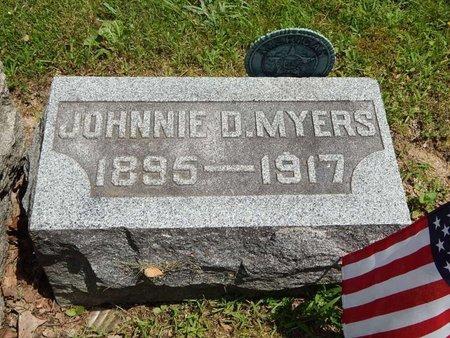 MYERS, JOHNNIE D - Jefferson County, Illinois   JOHNNIE D MYERS - Illinois Gravestone Photos