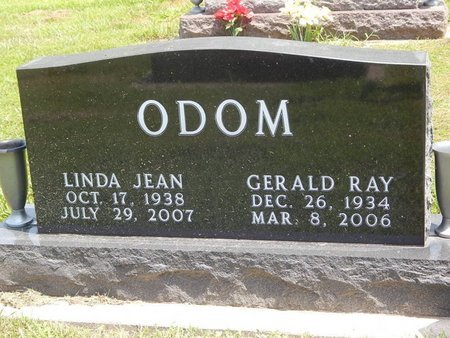 ODOM, LINDA JEAN - Jefferson County, Illinois | LINDA JEAN ODOM - Illinois Gravestone Photos
