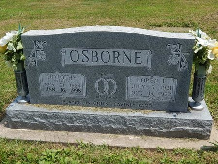 OSBORNE, DOROTHY - Jefferson County, Illinois | DOROTHY OSBORNE - Illinois Gravestone Photos