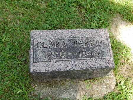 PARKER, CLARA - Jefferson County, Illinois   CLARA PARKER - Illinois Gravestone Photos