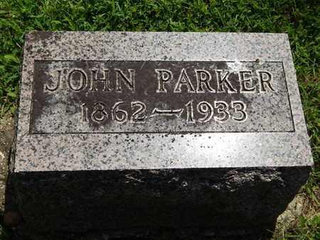 PARKER, JOHN - Jefferson County, Illinois | JOHN PARKER - Illinois Gravestone Photos