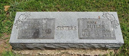 BUTLER, MARY F - Jefferson County, Illinois | MARY F BUTLER - Illinois Gravestone Photos