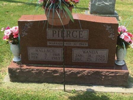 PIERCE, WALLACE - Jefferson County, Illinois | WALLACE PIERCE - Illinois Gravestone Photos