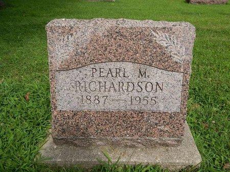 RICHARDSON, PEARL M - Jefferson County, Illinois | PEARL M RICHARDSON - Illinois Gravestone Photos