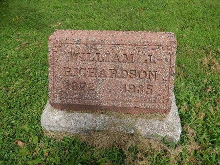 RICHARDSON, WILLIAM J - Jefferson County, Illinois | WILLIAM J RICHARDSON - Illinois Gravestone Photos