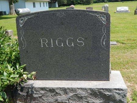 RIGGS, FAMILY MARKER - Jefferson County, Illinois   FAMILY MARKER RIGGS - Illinois Gravestone Photos
