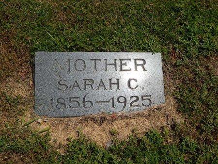 RIGGS, SARAH C - Jefferson County, Illinois   SARAH C RIGGS - Illinois Gravestone Photos