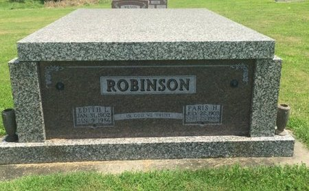 ROBINSON, EDITH L - Jefferson County, Illinois | EDITH L ROBINSON - Illinois Gravestone Photos