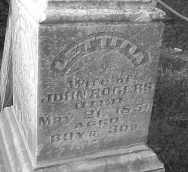 ATWOOD ROGERS, LETTITIA - Jefferson County, Illinois | LETTITIA ATWOOD ROGERS - Illinois Gravestone Photos