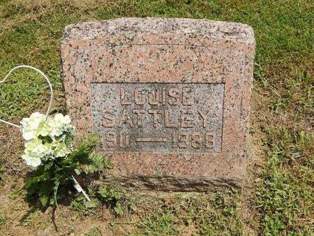 SATTLEY, LOUISE - Jefferson County, Illinois | LOUISE SATTLEY - Illinois Gravestone Photos