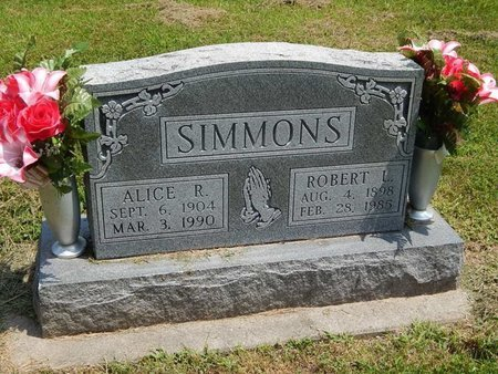 SIMMONS, ROBERT L - Jefferson County, Illinois | ROBERT L SIMMONS - Illinois Gravestone Photos