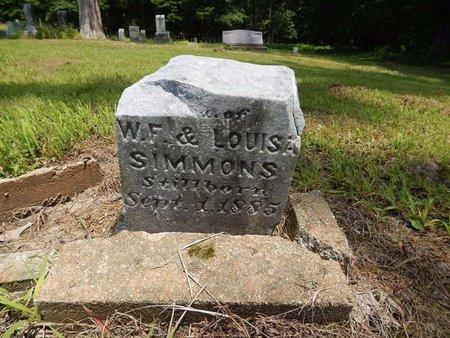 SIMMONS, DAUGHTER - Jefferson County, Illinois | DAUGHTER SIMMONS - Illinois Gravestone Photos
