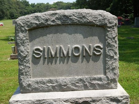 SIMMONS, FAMILY MARKER - Jefferson County, Illinois   FAMILY MARKER SIMMONS - Illinois Gravestone Photos