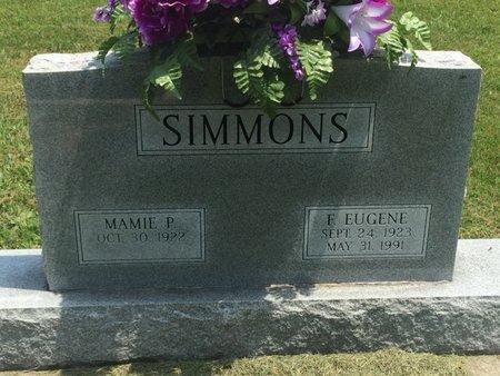 SIMMONS, F EUGENE - Jefferson County, Illinois | F EUGENE SIMMONS - Illinois Gravestone Photos