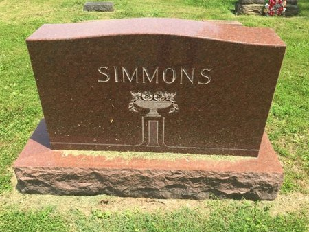 SIMMONS, FAMILY MARKER - Jefferson County, Illinois | FAMILY MARKER SIMMONS - Illinois Gravestone Photos