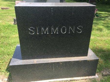 SIMMONS, FAMILY STONE - Jefferson County, Illinois   FAMILY STONE SIMMONS - Illinois Gravestone Photos